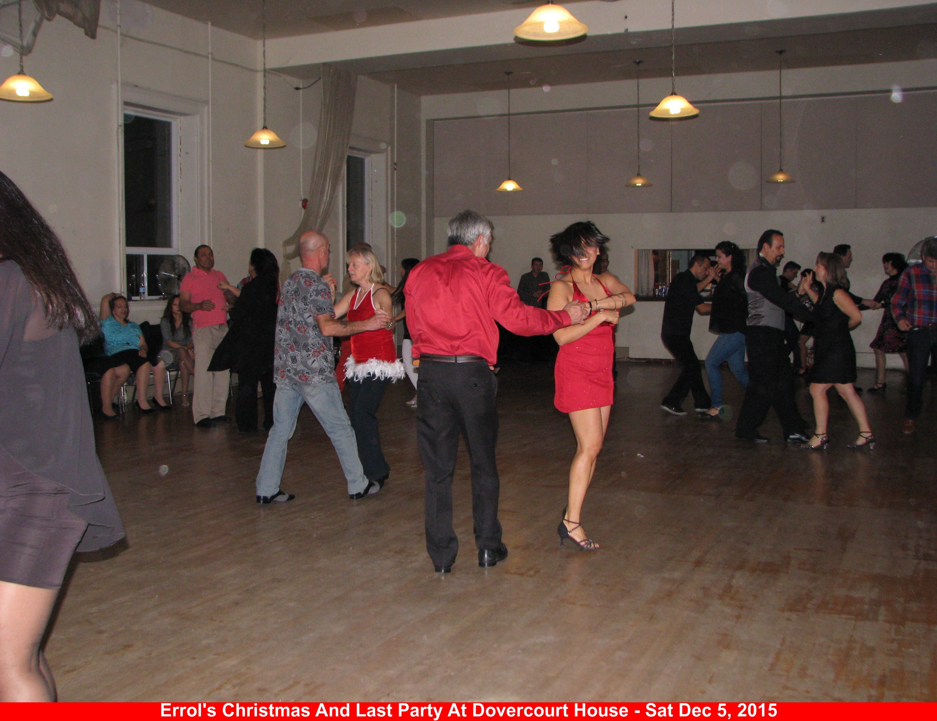 Errol's Christmas And Last Party At Dovercourt House
